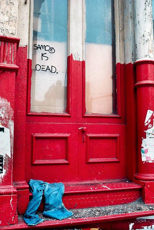 Robert Herman Color Photograph - SAMO IS DEAD Rare Basquiat Photo 1981 (Jean-Michel Basquiat)