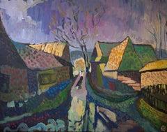 After the Rain, Original Painting