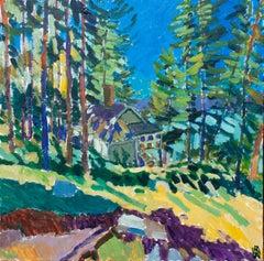 Blue Hill, Original Painting