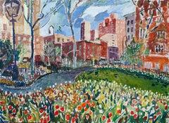 Greenwich Village, Original Painting