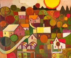 Northern Farmstead, Original Painting