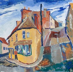 Village Life, Original Painting