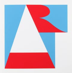 """Art"", from the American Dream Portfolio by Robert Indiana"