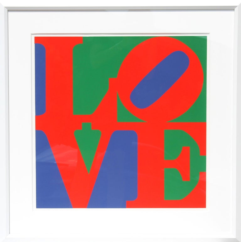 Robert Indiana Abstract Print - Classic LOVE