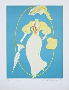 Constance Fletcher The Mother of Us All, Ltd Ed Lithograph, Robert Indiana