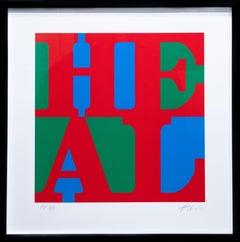 Heal (Red, Green, Blue Variation), Silkscreen on 2ply Rising Museum Board