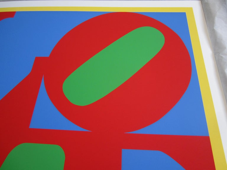 Heliotherapy Love - Pop Art Print by Robert Indiana