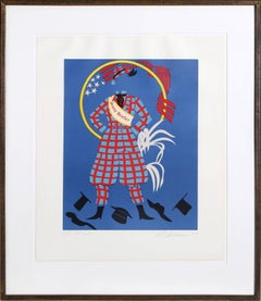 """Jenny Reefer"" Lithograph by Robert Indiana"