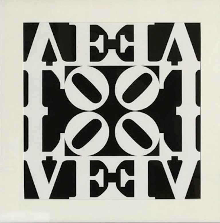 Love, from Decade Portfolio - Print by Robert Indiana