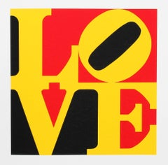 LOVE from the American Dream Portfolio by Robert Indiana