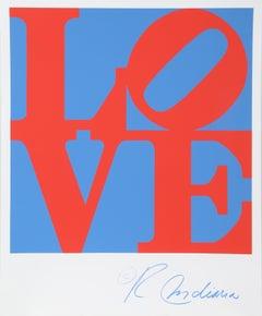LOVE, Silkscreen by Robert Indiana