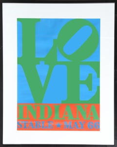 Love Stable May 66, 1966 by Robert Indiana