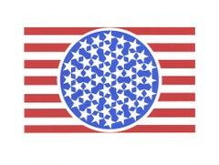"New Glory Banner, from ""The American Dream""-Portfolio - Pop Art Serigraph"