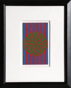 """New Glory Banner"" Silkscreen by Robert Indiana 1968"