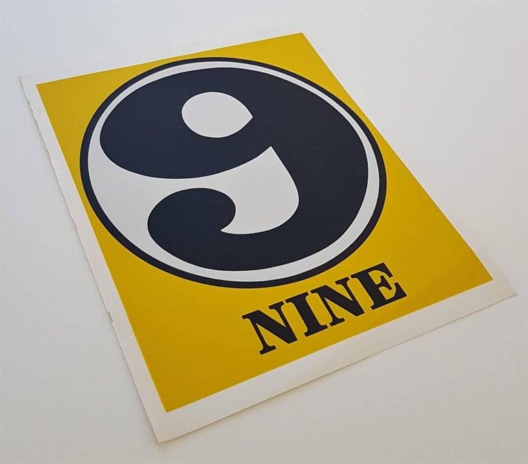 Number Suite - Nine - Pop Art Print by Robert Indiana