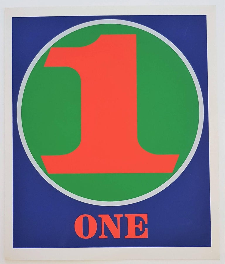 Number Suite - One - Print by Robert Indiana