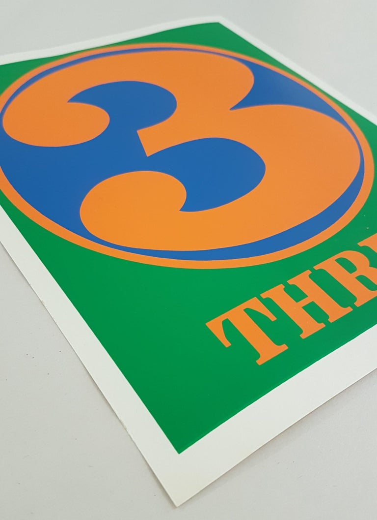 Number Suite - Three - Pop Art Print by Robert Indiana
