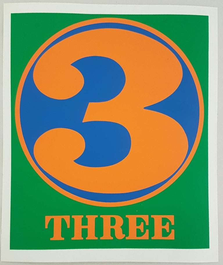 Number Suite - Three - Print by Robert Indiana