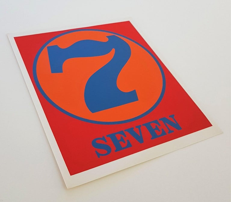 NUMBERS Folio (Book of Silkscreens & Poems) For Sale 7