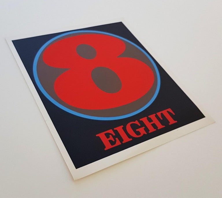 NUMBERS Folio (Book of Silkscreens & Poems) For Sale 8