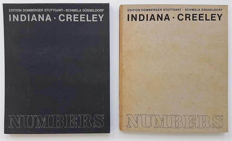 NUMBERS Folio (Book of Silkscreens & Poems) - Print by Robert Indiana