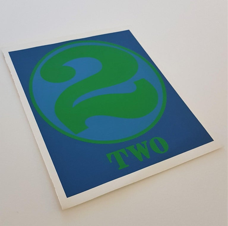 NUMBERS Folio (Book of Silkscreens & Poems) For Sale 2