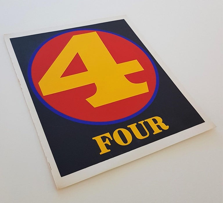 NUMBERS Folio (Book of Silkscreens & Poems) For Sale 4