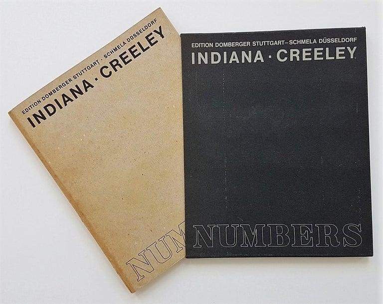 Robert Indiana Figurative Print - NUMBERS Folio (Book of Silkscreens & Poems)