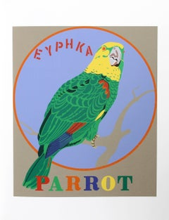 """Parrot"", from the American Dream Portfolio by Robert Indiana"