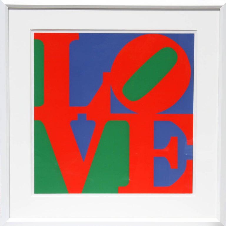 Robert Indiana Abstract Print - Philadelphia Love