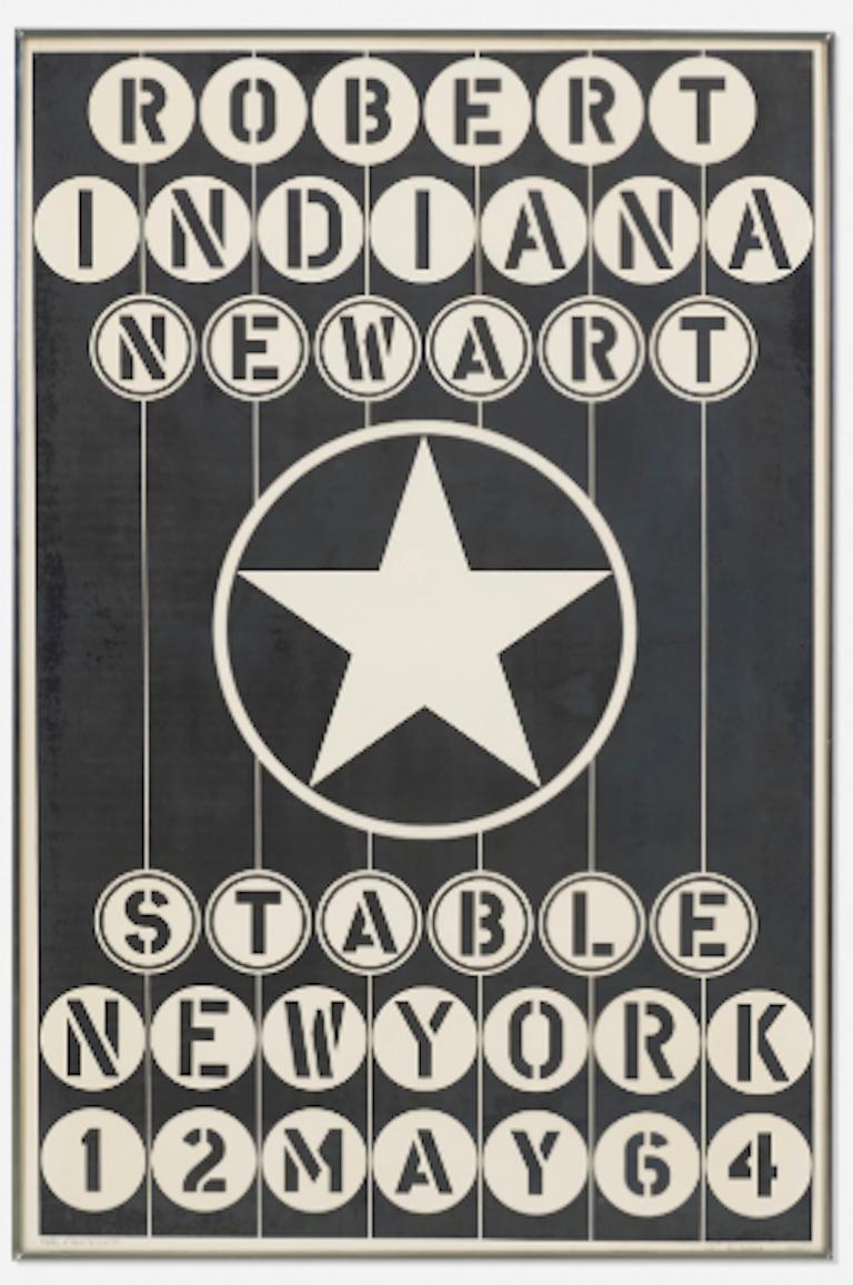 Robert Indiana 'New Art Poster'  - Print by Robert Indiana