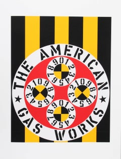"""The American Gas Works"", from the American Dream Portfolio by Robert Indiana"