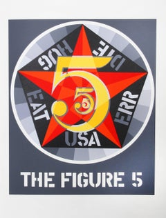 """""""The Figure 5"""", from the American Dream Portfolio by Robert Indiana"""