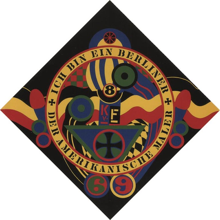The Hartley Elegies KvF IX - Print by Robert Indiana