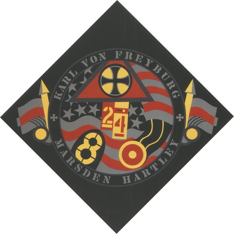 The Hartley Elegies KvF VII - Print by Robert Indiana
