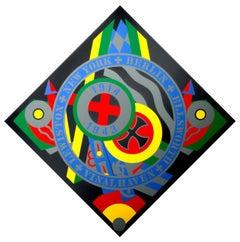 The Hartley Elegies - KvF X, Pop Art Silkscreen by Robert Indiana