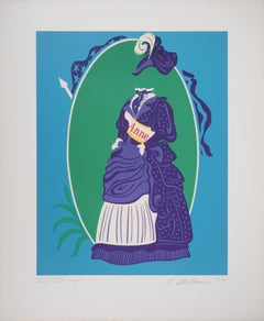 Votes for Women (Anne) - Original lithograph, Handsigned and numbered / 150