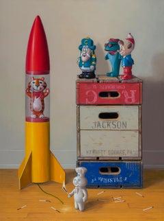 AMERICAN WAY, memorabilia, vivid colors, still life, vintage american brands