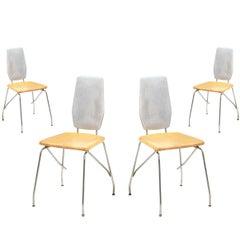 Robert Josten Aluminum Dining Chairs