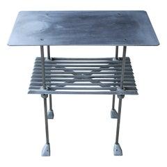 Robert Josten Aluminum End Table