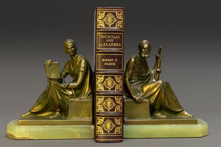 Mid-20th Century Robert K. Massie, Nicholas And Alexandra For Sale