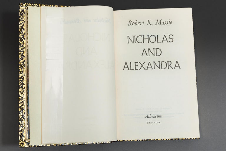 Robert K. Massie, Nicholas And Alexandra For Sale 1