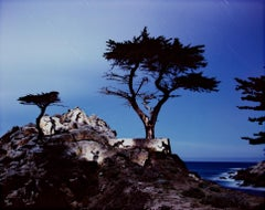 """Spirits Honoring the Lone Cypress No. 2,"" art photograph by Robert Kawika Sheer"