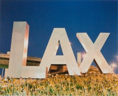 """The History of Flight (Upon the LAX Sign),"" Photograph by Robert Kawika Sheer"