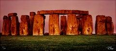 """The Spirits of Stonehenge,"" performance photography by Robert Kawika Sheer"