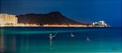 """Three Hawaiian Spirits at Waikiki,"" fine-art photography by Robert Kawika Sheer"