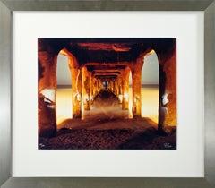 'Under the Manhattan Beach Pier No. 2' photograph signed by Robert Kawika Sheer
