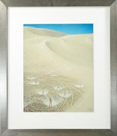 'Yoga Dunes' original photograph signed by Robert Kawika Sheer