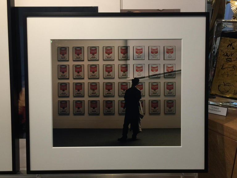 Late 20th Century Andy Warhol's Soup Cans - Robert Kent Sharpe Original Vintage Photography For Sale
