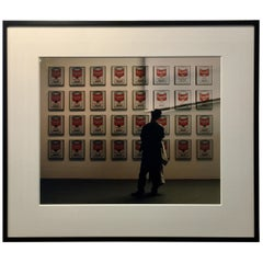 Andy Warhol's Soup Cans - Robert Kent Sharpe Original Vintage Photography